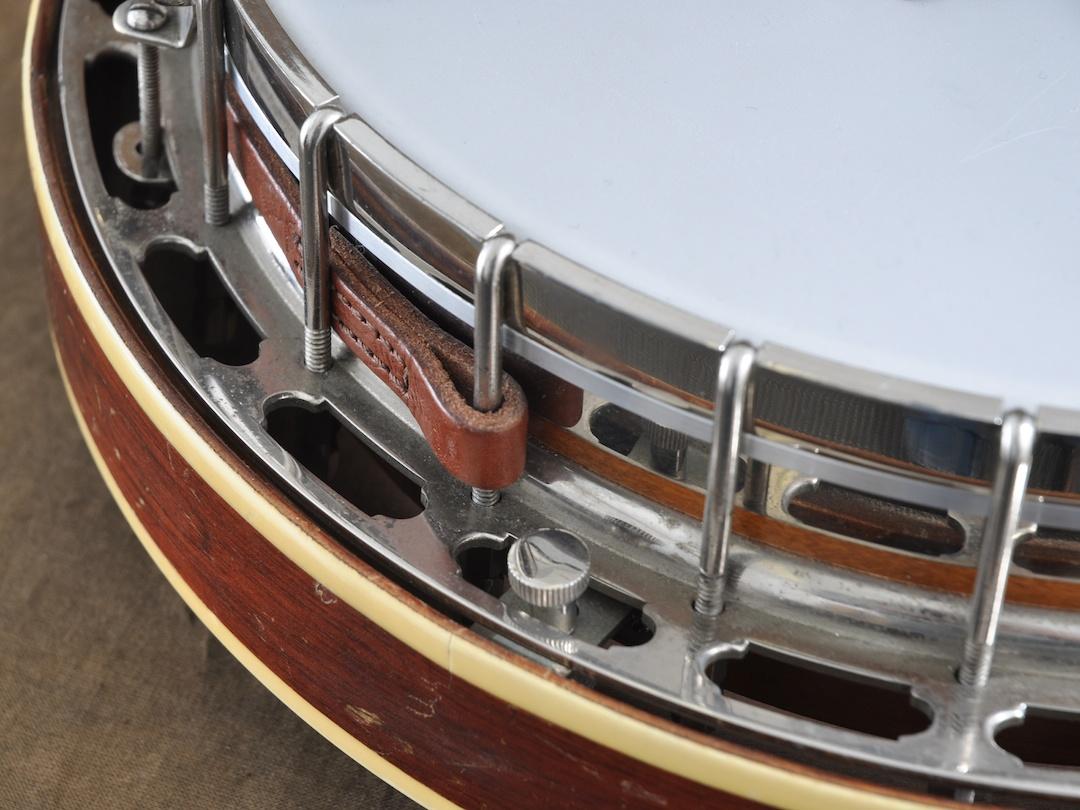 best leather banjo strap